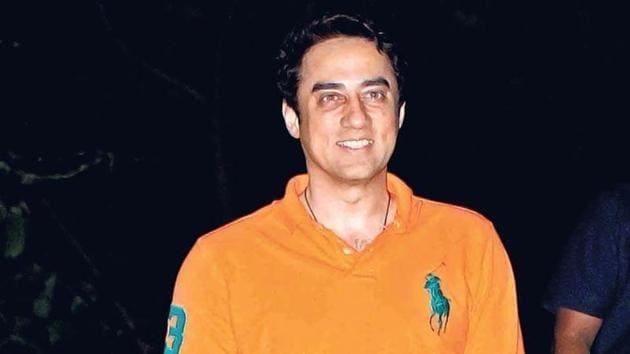 Faisal Khan at Aamir Khan's Lonavala house for the PK star's birthday bash in 2015. (Photo: Yogen Shah)