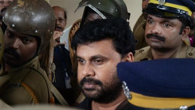 Malayalam superstar Dileep was arrested on July 10 in connection with the alleged abduction and rape of a leading Malayalam actress.(PTI)