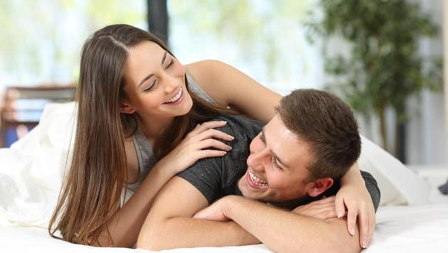 More than 57% of respondents, be it male or female, accept that these encounters are more about satiating the urge for physical intimacy.(Shutterstock)
