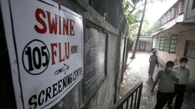 Two suspected cases were reported in Ghaziabad on August 31. However, both were later confirmed as negative. In 2017, just two cases of swine flu were reported in Ghaziabad.(HT PHOTO)