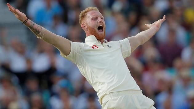 Ben Stokes likes being compared to Andrew Flintoff but would rather be the best version of himself.(Action Images via Reuters)