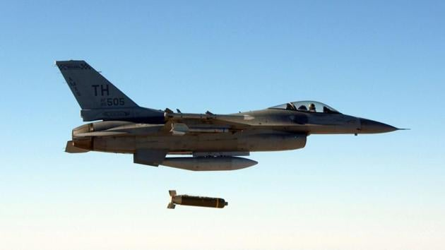 According to the most recent Airwars tally, 4,734 civilians have been killed in coalition strikes.(AP File Photo)