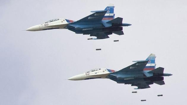 Russia will exchange Sukhoi jet fighters for palm oil and coffee with Indonesia.(REUTERS)