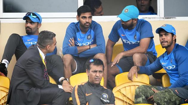 The likes of Bhuvneshwar Kumar, Mohammed Shami and Umesh Yadav have made India's pace bowling attack a lethal combo, says former Sri Lanka captain Arjuna Ranatunga.(AFP)