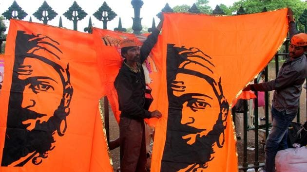 Maratha, a pre-dominantly farmer caste, is more than one third of Maharashtra's population.(HT Photo)