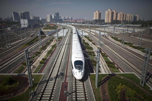 China has plans to rapidly expand its railway network including high-speed train tracks across the country in 2019.(AP File Photo)