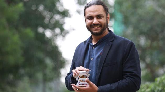Psychological illusionist Karan Singh Magic.(Amal KS/HT Photo)