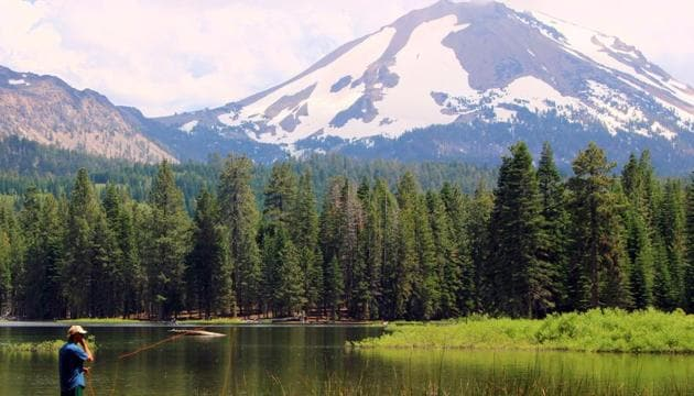 Mount Lassen Volcanic National Park is home to every type of volcano in the world.(Shutterstock)