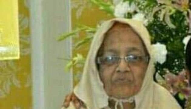 Zehra Hakim, the deceased(HT)