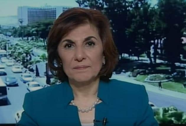 Bouthaina Shaaban, one of the closest aides of Syrian President Bashar al-Assad.(YouTube screengrab)