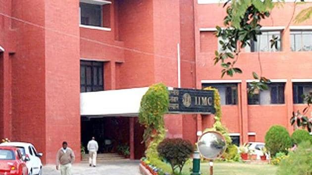 According to IIMC director general KG Suresh, a three-month certificate programme in Sanskrit journalism will be offered to students.(HT File Photo)