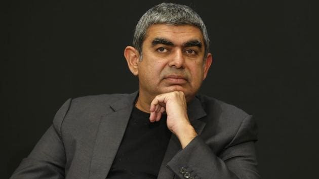 Chief Executive Officer Vishal Sikka resigned on Friday blaming a 'continuous drumbeat of distractions' and a long-running row with founders over the tech firm's strategy.(AP File Photo)