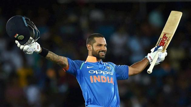 <p>Shikhar Dhawan&rsquo;s brilliant 132* and Virat Kohli&rsquo;s 82* helped India to a nine-wicket win over Sri Lanka in the Dambulla ODI.</p> (PTI)