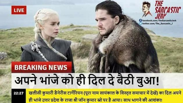 The Best Memes And Tweets So Far From Game Of Thrones Season 7 Hindustan Times