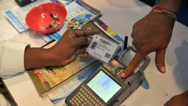 They argued that Aadhaar violated a person's right to privacy guaranteed by Article 21 of the Constitution.(AFP file)