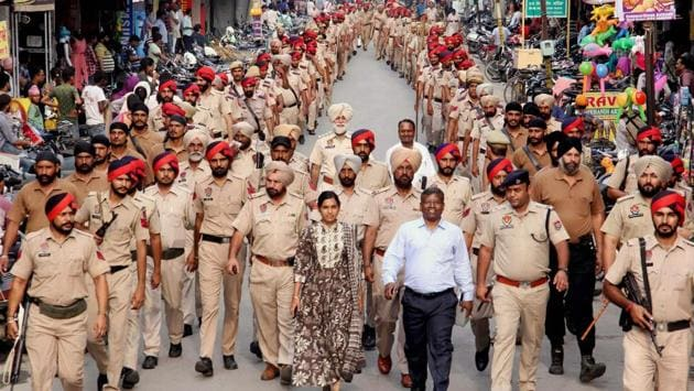 <p>Panchkula police are on alert as Sirsa-based Dera Sacha Sauda followers throng the sect&rsquo;s Sector-23 based Naam Charcha Ghar in Haryana, days ahead of...