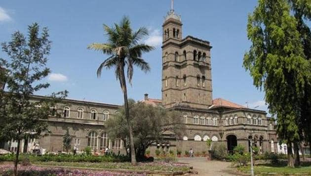Pune University campus.(HT FILE PHOTO)