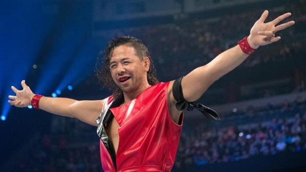 Shinsuke Nakamura had a chance to be a star in the world of MMA, but is content in WWE.(WWE)