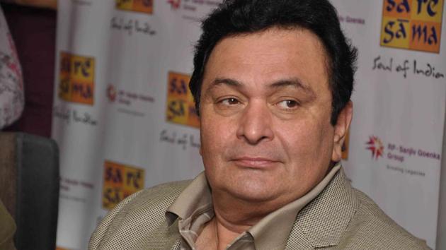 Actor Rishi Kapoor(HT File Photo)
