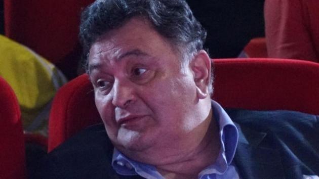 Rishi Kapoor during the trailer launch of Patel Ki Punjabi Shaadi in Mumbai.(IANS)