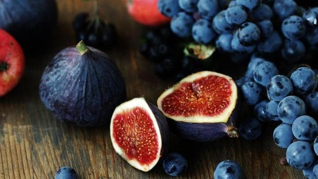 Purple foods can reduce risk of cancer, stroke and heart disease, among other benefits.(Shutterstock)