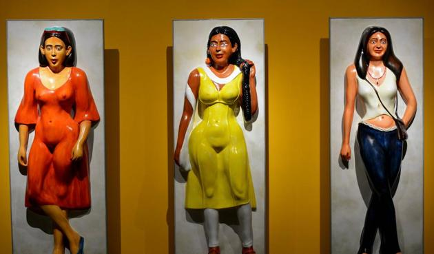 The women stand tall and proud in Reddy's portrayal of city life.(Nikhita Venugopal)