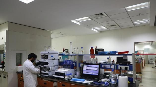 The planned IISER lab will improve levels of experiments, with more number of labs allotted for conducting smaller research projects along with industrial research training.(HT PHOTO)