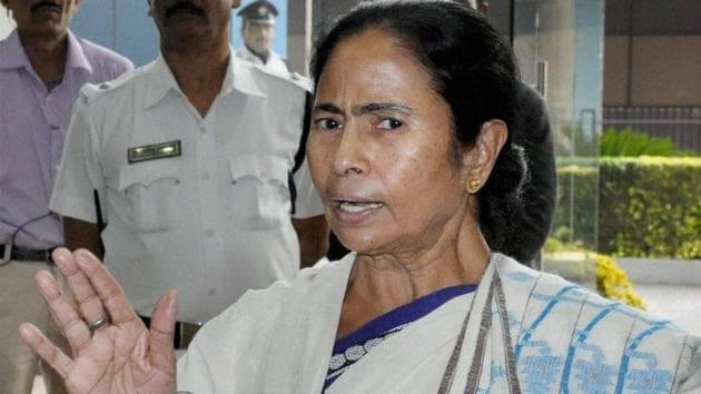 """West Bengal chief minister Mamata Banerjee said the RBI data """"points to a big scam"""".(PTI file photo)"""