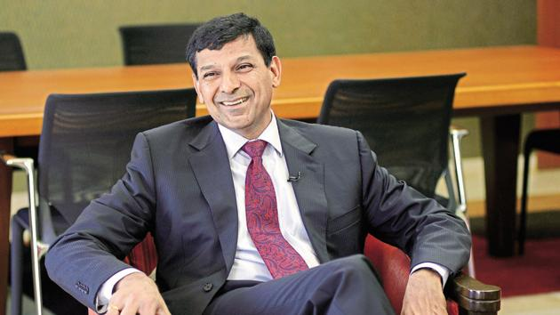 Raghuram Rajan, as governer of Reserve Bank of India, during a conference in Mumbai.(Abhijit Bhatlekar/ Mint file photo)