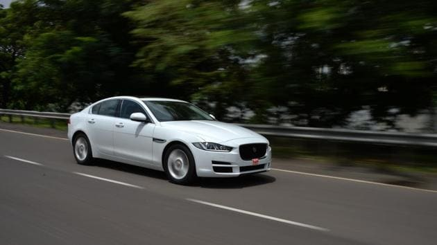 Jaguar has positioned the petrol variants of the XE as the sporty choice among luxury sedans.