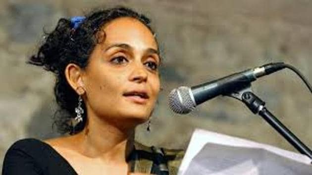 The FIR was registered following a complaint from journalist Sagarika Ghose whose name appears in the list of women which include authors Shobha De and Arundhati Roy, and activists Kavitha Krishnan and Shehla Rashid.(PTI File Photo)