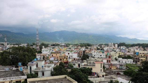 Haldwani has seen the setting up of a slew of projects in the last four years.(Md Khalid/HT PHOTO)