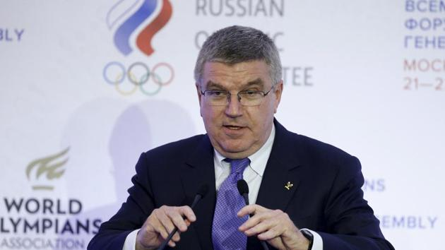 Thomas Bach has said the International Olympic Committee is not immune from corruption but has stated the importance of credibility in the organisation.(REUTERS)