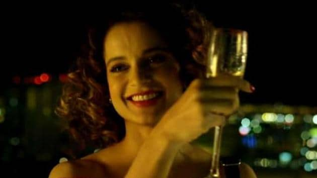Kangana Ranaut's Simran is a one-woman show and not a great one at that.