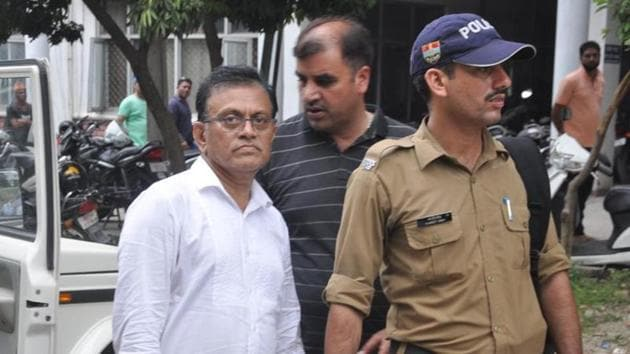 Dr Amit Kumar allegedly masterminded the kidney racket that was being run in Dehradun.(Vinay Santosh Kumar / HT Photo)