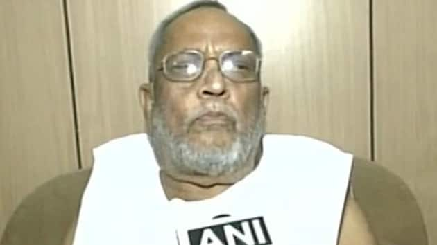 On August 24, Mohammad Taslimuddin was admitted to the hospital after he suddenly developed breathing problem.(ANI Photo)