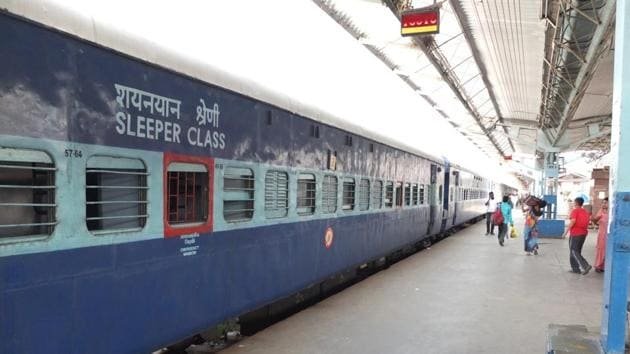 This provision is applicable to all reserved coaches with sleeping accommodation(File Photo)