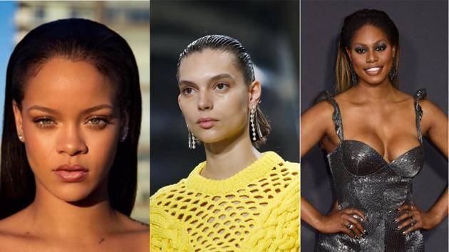 From Rihanna to Gigi Hadid, everyone's sporting the slicked-back hair look this...