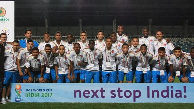 FIFA U-17 World Cup: Colombia becomes first team to land in India