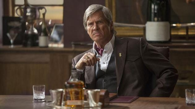 This image released by Twentieth Century Fox shows Jeff Bridges in Kingsman: The Golden Circle.(AP)