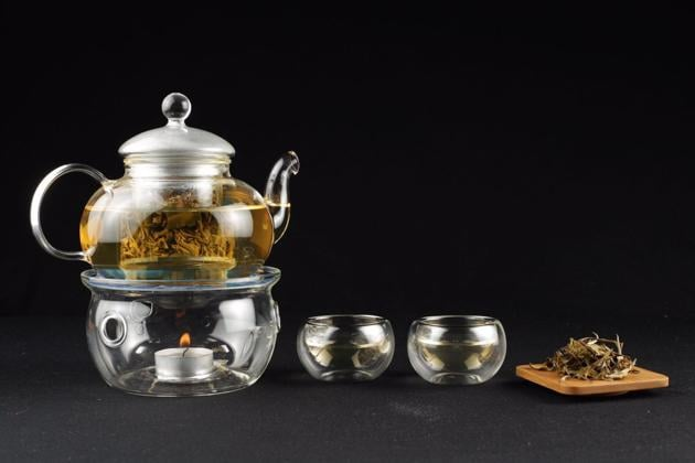 Made from new, unopened buds, Darjeeling white tea has a nutty flavour and pale yellow colour, and is available at Radhika's Fine Teas.
