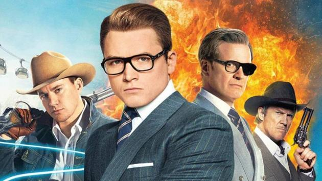 Several Oscar winners, and one Taron Egerton united to embarrass themselves in Kingsman: The Golden Circle.
