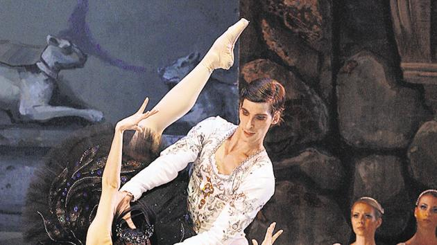 The ballet tells the story of Odette and prince Siegfried.(ICCR)