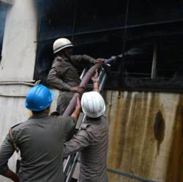 The warehouse was located near residential houses, but evacuation was not required.(Representative Image)