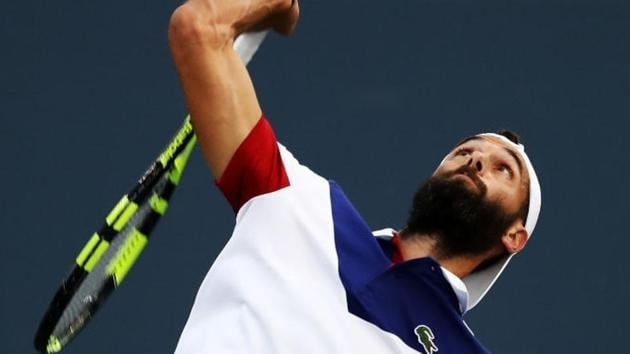 Benoit Paire beat David Goffin 7-6 (3), 5-7, 7-6 (7) to enter the semifinals of the Moselle Open in Metz(Getty Images)