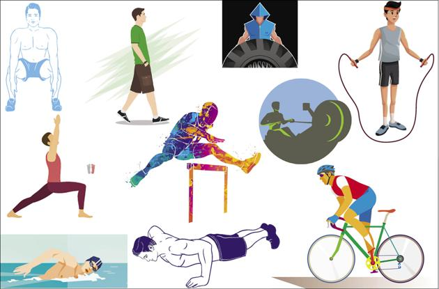 From swimming and skipping to simply walking, these exercises are sure to keep your heart in super healthy(Shutterstock)