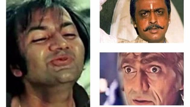 Once villains were also the superstars in Bollywood.