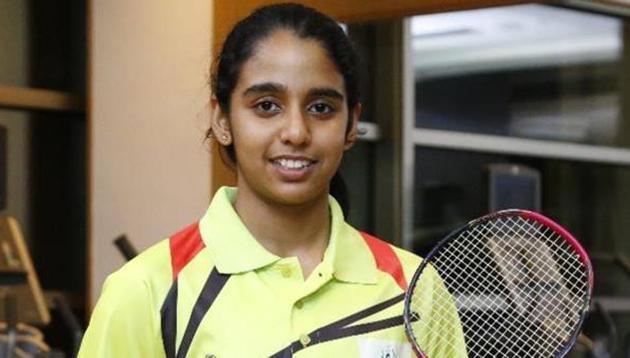 Vaishnavi Reddy defeated Vivien Sandorhazi in the final of U-19 Belgian Junior Open.(Twitter)