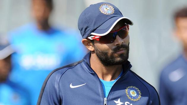 Ravindra Jadeja, who was 'rested' before the ODIs against Australia cricket team began, was called up when Axar Patel suffered a fracture in his finger. But now that Patel is set to return, Jadeja has been forced back into 'rest' mode.(Getty Images)