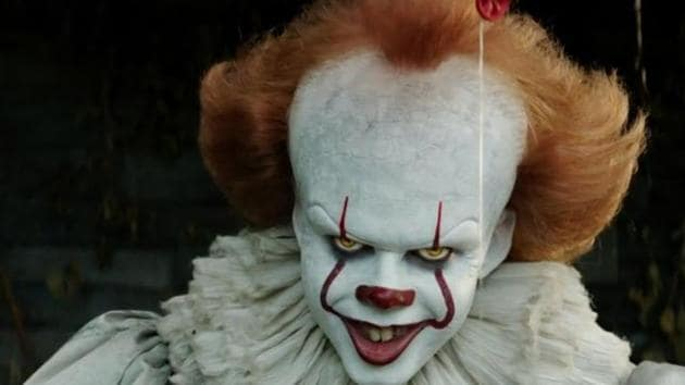 Bill Skarsgard as Pennywise the Dancing Clown in It.